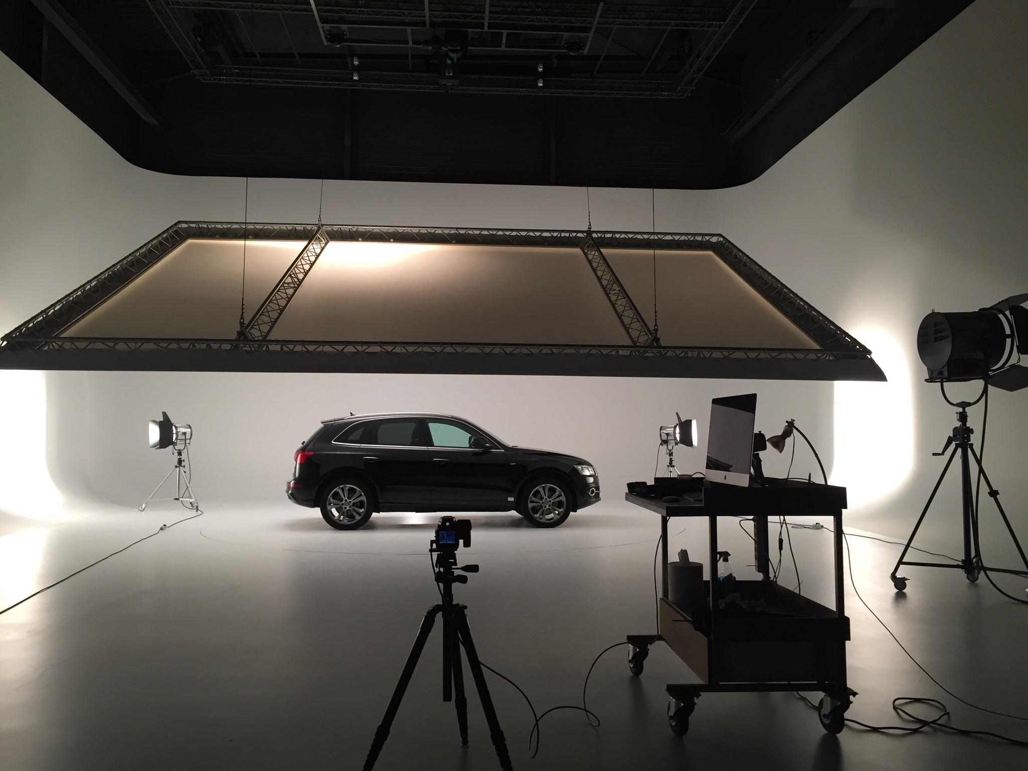 Grand studio photo vidéo à louer
